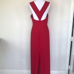 BCBGMaxazria Red Maxi Dress Size 8